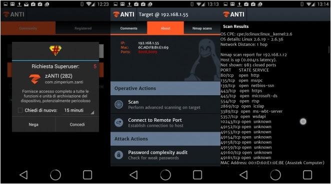 تطبيق اندرويد خطير لإختراق الهواتف المتصلة على نفس الشبكة