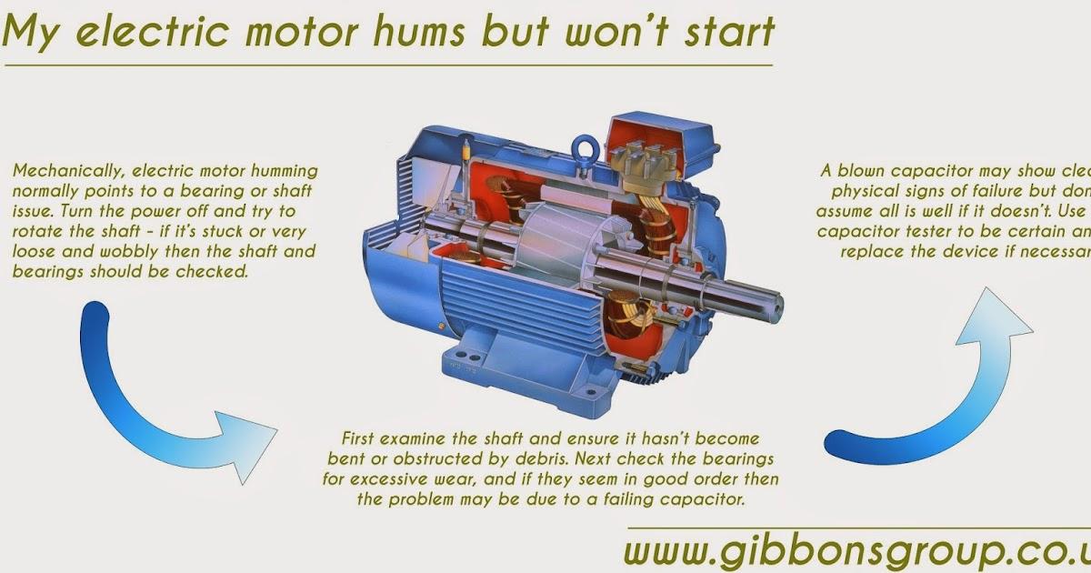 Capacitor Motor Wont Start