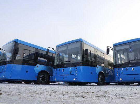 Кузбасс получил 739 новых автобусов, Новокузнецк отказался от 85-ти