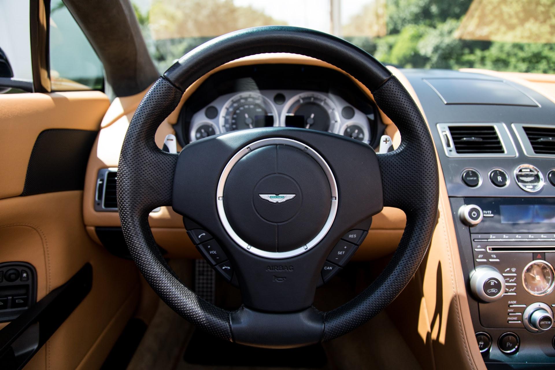 Used 2009 Aston Martin V8 Vantage Roadster For Sale 49 900 Marino Performance Motors Stock 012416
