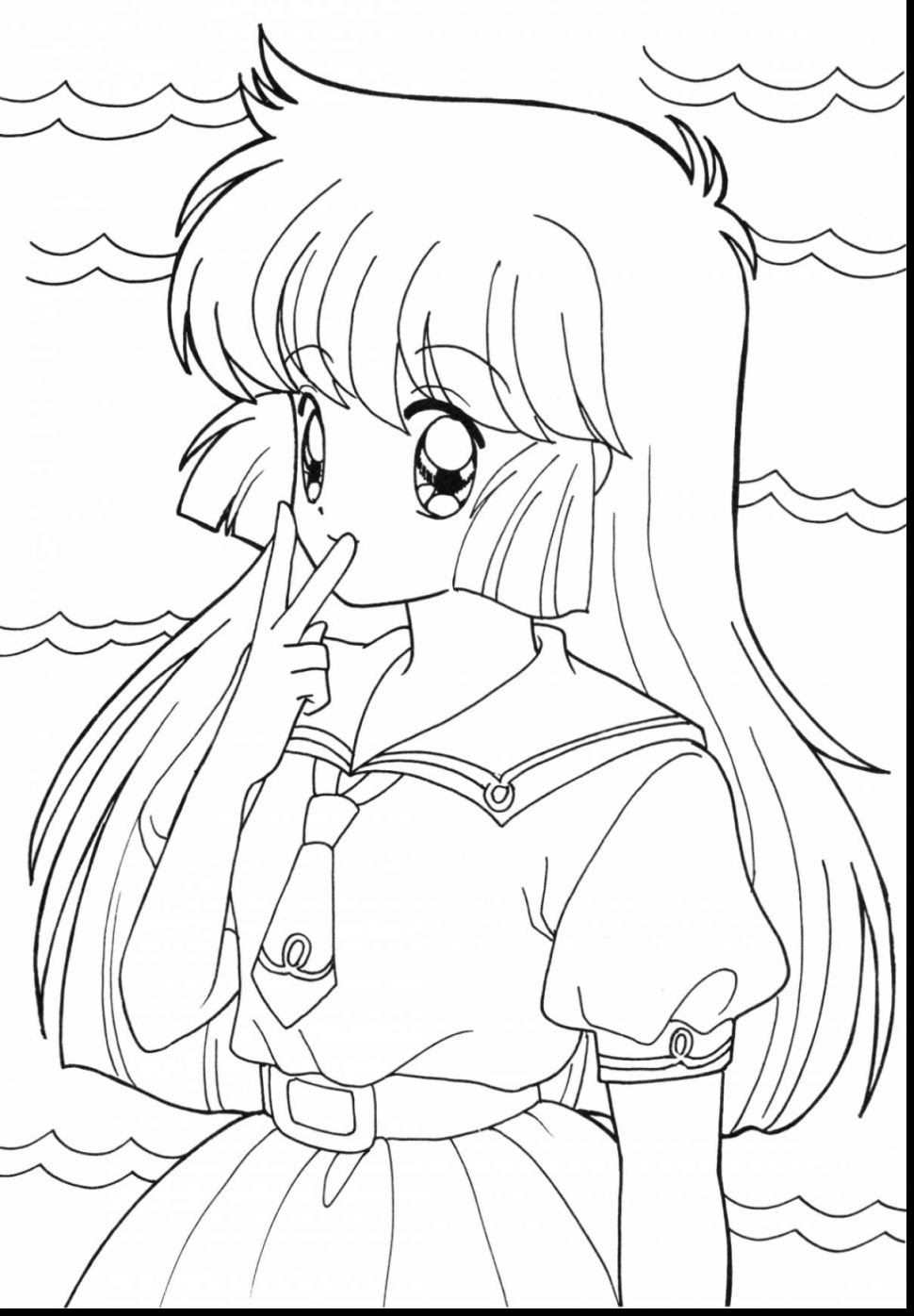 Wolf Girl Coloring Pages at GetColorings.com   Free ...