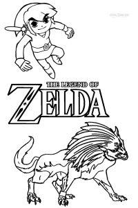 Coloriage Zelda A Imprimer 53 Dessins De Coloriage Zelda