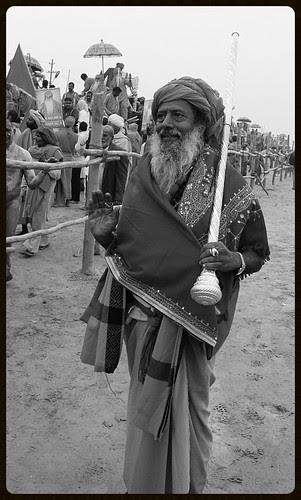 My Naga Guru Shri Vijay Giri Triveni Juna Akhada by firoze shakir photographerno1