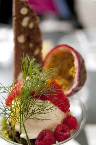 Coppa di Gelato alla Crema Formaggio, Formaggio con Tortino al Ciocolato, Sol Levante, Omote-Sando