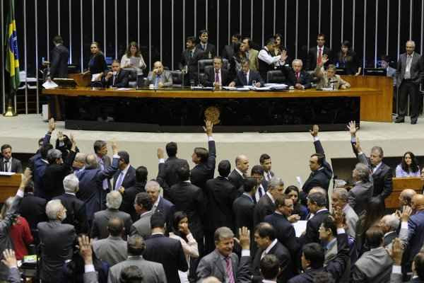 Sessão discute abertura de comissão para investigar pagamento de propina na Petrobras: decisão sai hoje (Gustavo Lima/Agência Câmara)
