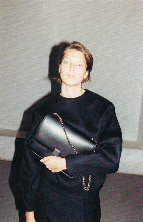 emzgalz:  Céline f/w 2012 X Daria Werbowy