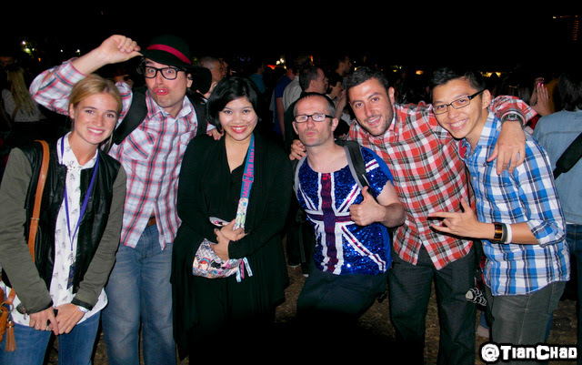 Samsung Global Blogger London 2012 Olympic Open Ceremony Hyde Park-2071