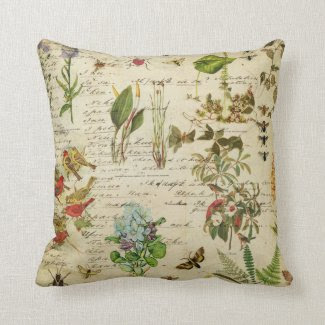 Botanical Gardens Decorative Pillow