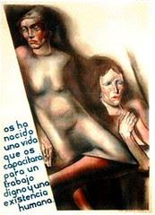 afiche revolución española del 36