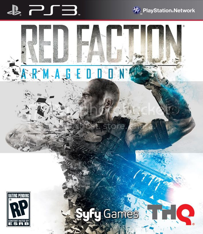 Red Faction Armageddon PS3 CHARGED