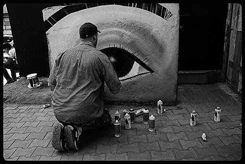 International Graffiti Artists Have Left Their Indelible Mark At Bandra Bazar Road by firoze shakir photographerno1