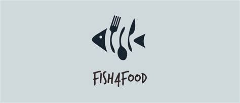 fish logo design creative minimal