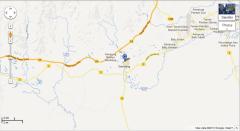 location of Gambang Perdana Boutique Homestay