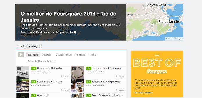 Melhores lugares do Rio de Janeiro, segundo o Foursquare (Foto: Reprodução/Lívia Dâmaso)