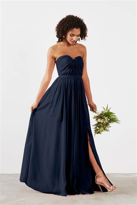 Navy Bridesmaid Dresses   All Dress