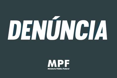 Banner escrito Denúncia