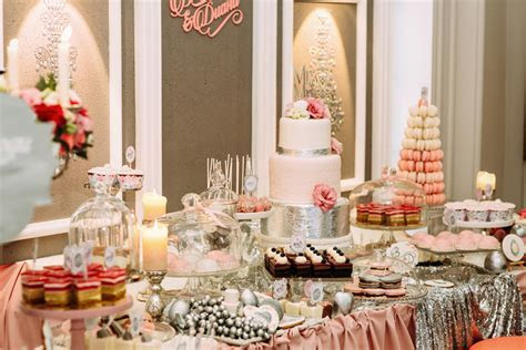 Dessert Tables   Mama Cakes Cumbria Bakery Wedding Cake Maker