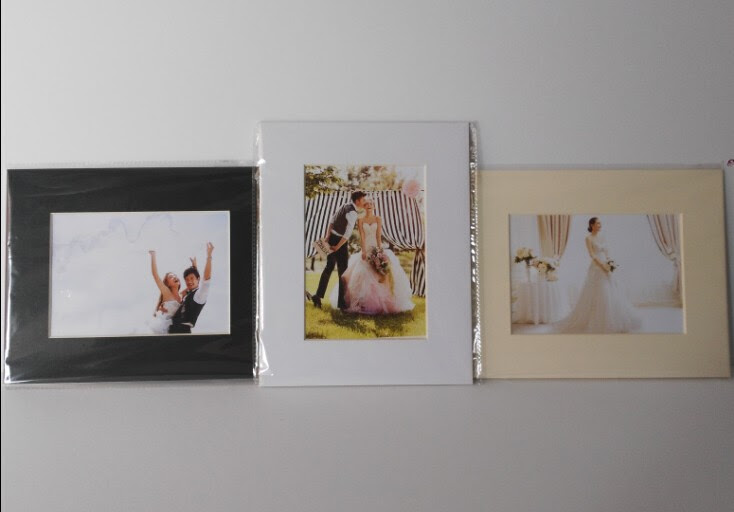 White Slip Into Mats For 5x7 8x10 11x14 Photo View Slip Into Mats