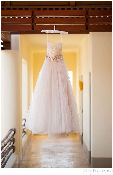 Lazaro Wedding Dress   Blush Wedding Dress   Destination