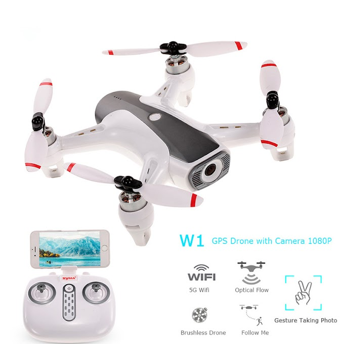 1080P WIFI Drone Quadcopter With HD Camera GPS Optical Flow Positioning Brushless Motor Altitude Hold Professional RC Helicopter