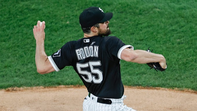 Chicago White Sox's Carlos Rodon throws MLB's second no-hitter of 2021