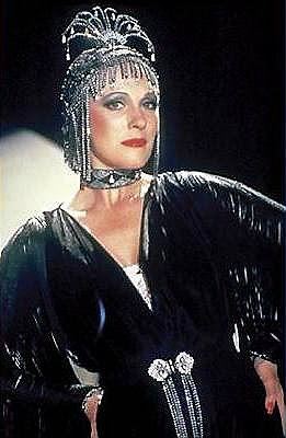 Julie Andrews in her Le Jazz Hot costume in Victor Victoria
