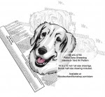 Polish Tatra Dog Scrollsaw Intarsia or Yard Art Woodworking Plan - fee plans from WoodworkersWorkshop® Online Store - Polish Tatra Dog s,pets,animals,dog breeds,yard art,painting wood crafts,scrollsawing patterns,drawings,plywood,plywoodworking plans,woodworkers projects,workshop blueprints