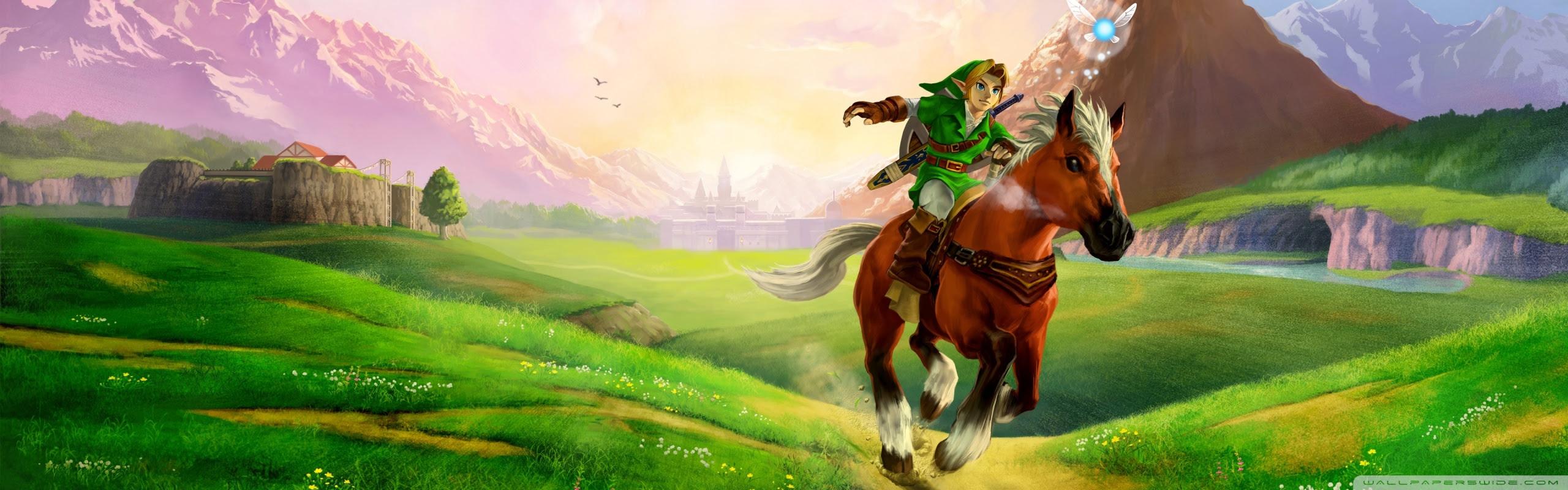 The Legend Of Zelda Ocarina Of Time 3d Ultra Hd Desktop Background