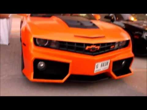 Extreme Car Park Show Orange Matte Camaro Ss Youtube