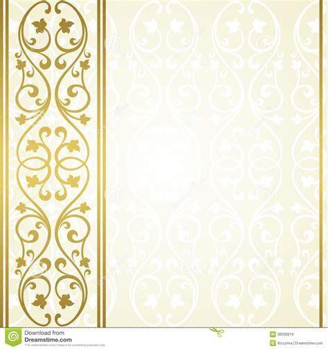 Floral invitation card. stock vector. Illustration of