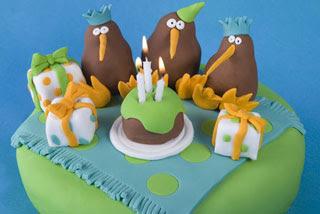 Party Cakes for Kiwi Kids