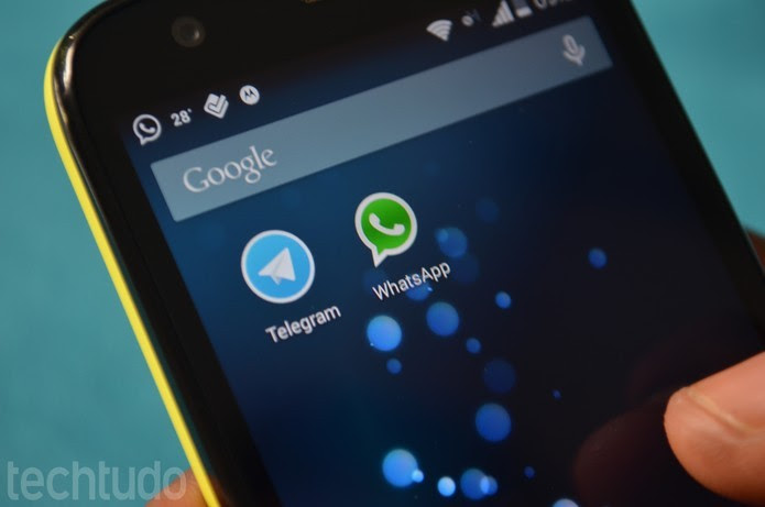 Rival do WhatsApp, Telegram permite editar mensagens já enviadas (Foto: TechTudo/Anna Kellen Bull)