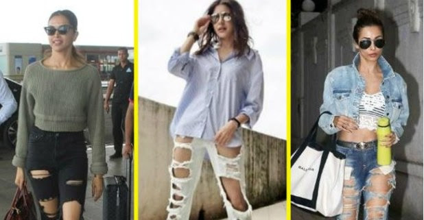 Bollywood Actresses Effortlessly Pulled On Extreme Distressed Jeans And Rocked Like A Pro