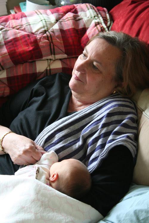 Paige and Grandma Carty