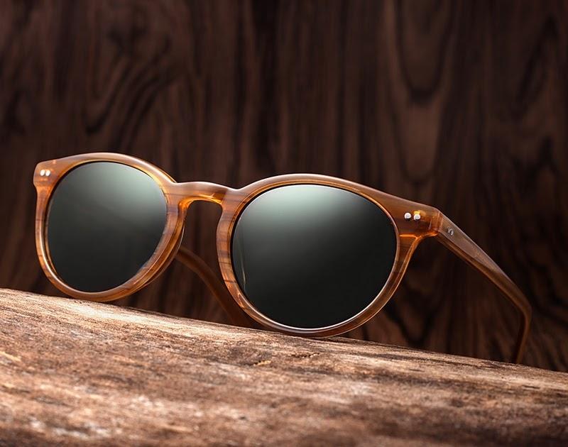 d835725e6 Comprar 20 20 Marca Clássico Dos Homens Polarizados Óculos De Sol Das  Mulheres Retro Acetato Tons Rebite Unisex óculos UV400 AT8002 Baratas  Online Preço ...