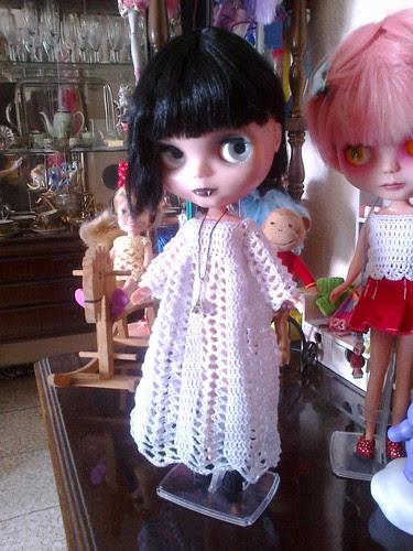 Marceline estrena vestido
