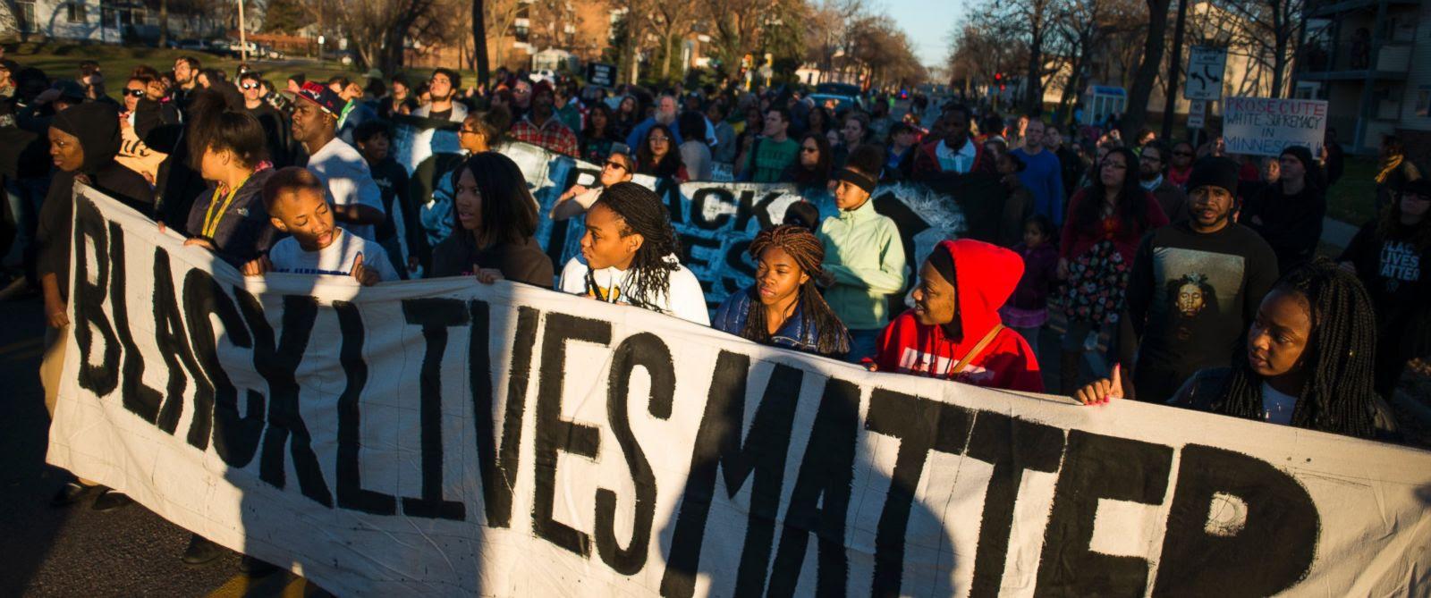 Black Lives Matter Wide Banner