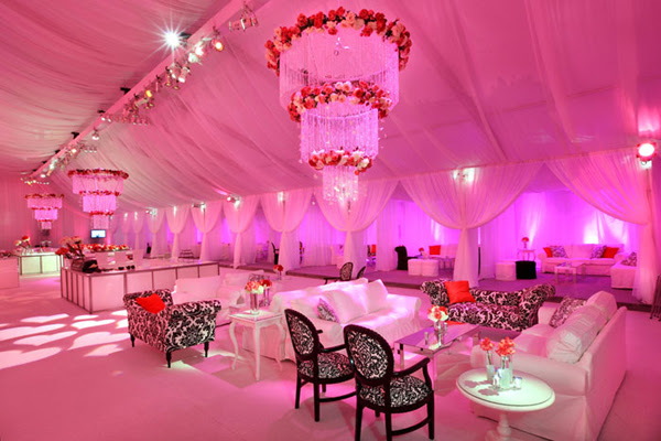 Original Ideas of Wedding Receptions Tents Decorating | WeddingElation