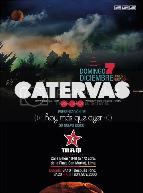 Catervas en Mao Bar, Lima - 07/12/2008