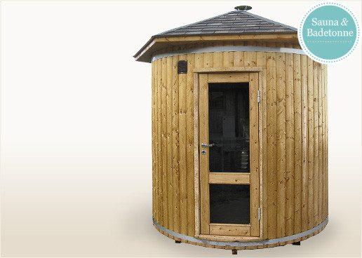 Sauna f r den garten mit holzofen - Sauna fur garten ...