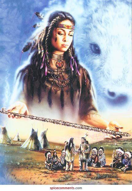 Madonna indiana