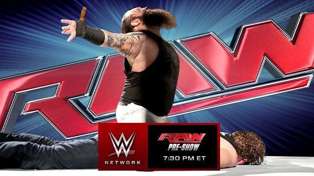 WWE RAW 27/10/2014: Zapowiedź