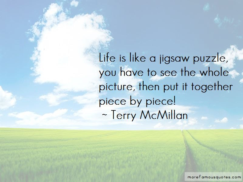 Jigsaw Puzzle Quotes Top 60 Quotes About Jigsaw Puzzle From Famous