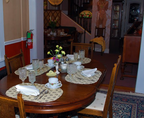 The Dining Area Off of the Kitchen