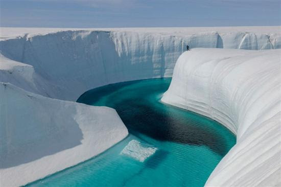 Blue River Greenland 1 12 Natural Ice Wonders Pictures visto na www.VyperLook.com