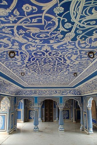 Blue Room, City Palace - Jaipur, India