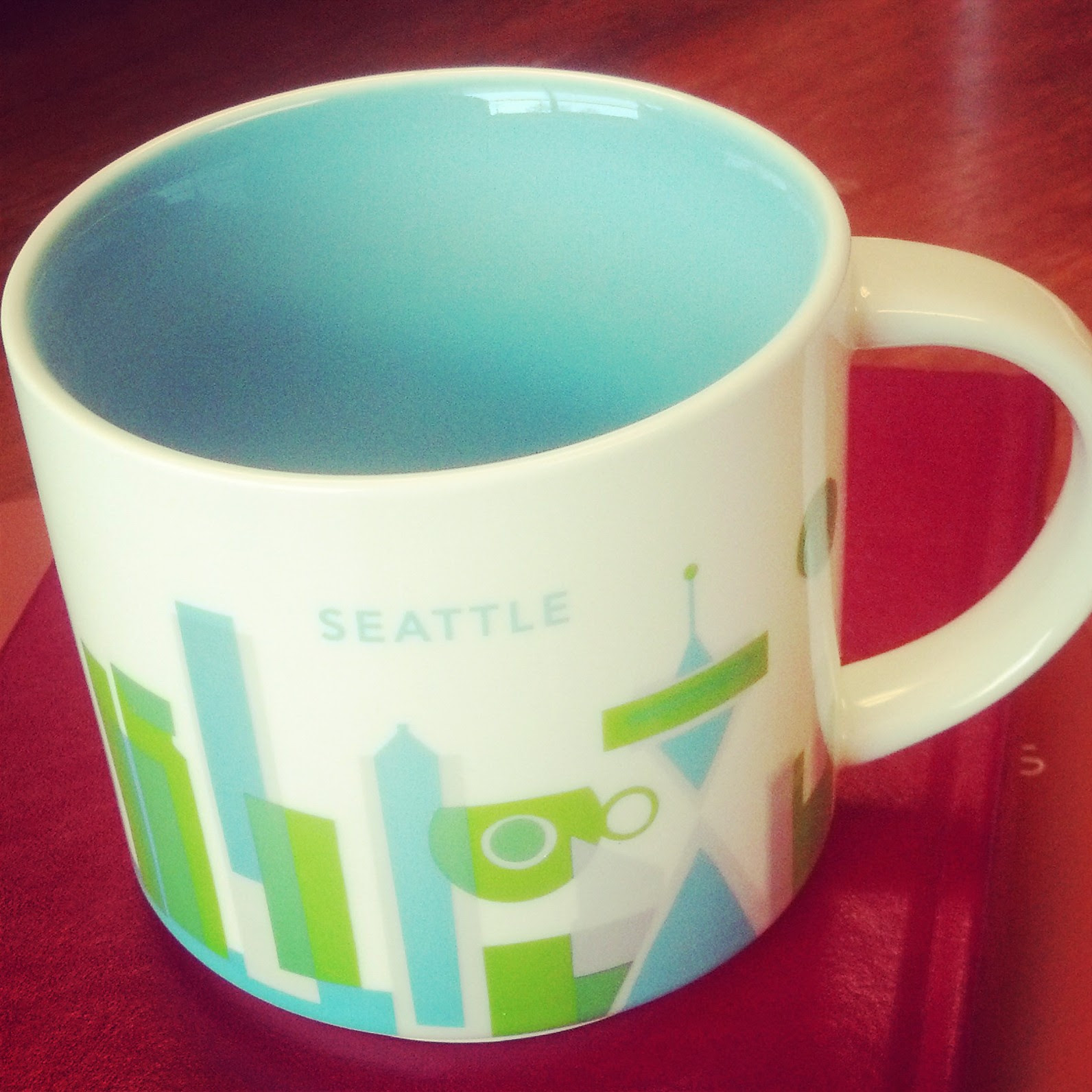 URHere Starbucks mug from Seattle