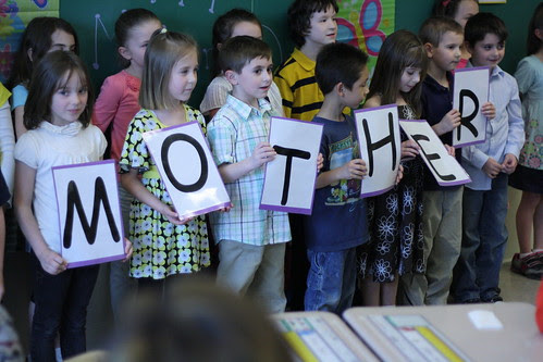 First Grade Mother's Day Celebration