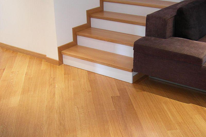Dormitorio muebles modernos rodapie escalera - Poner rodapie ...