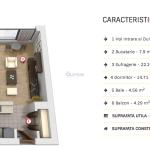 cortina residence schita apartament